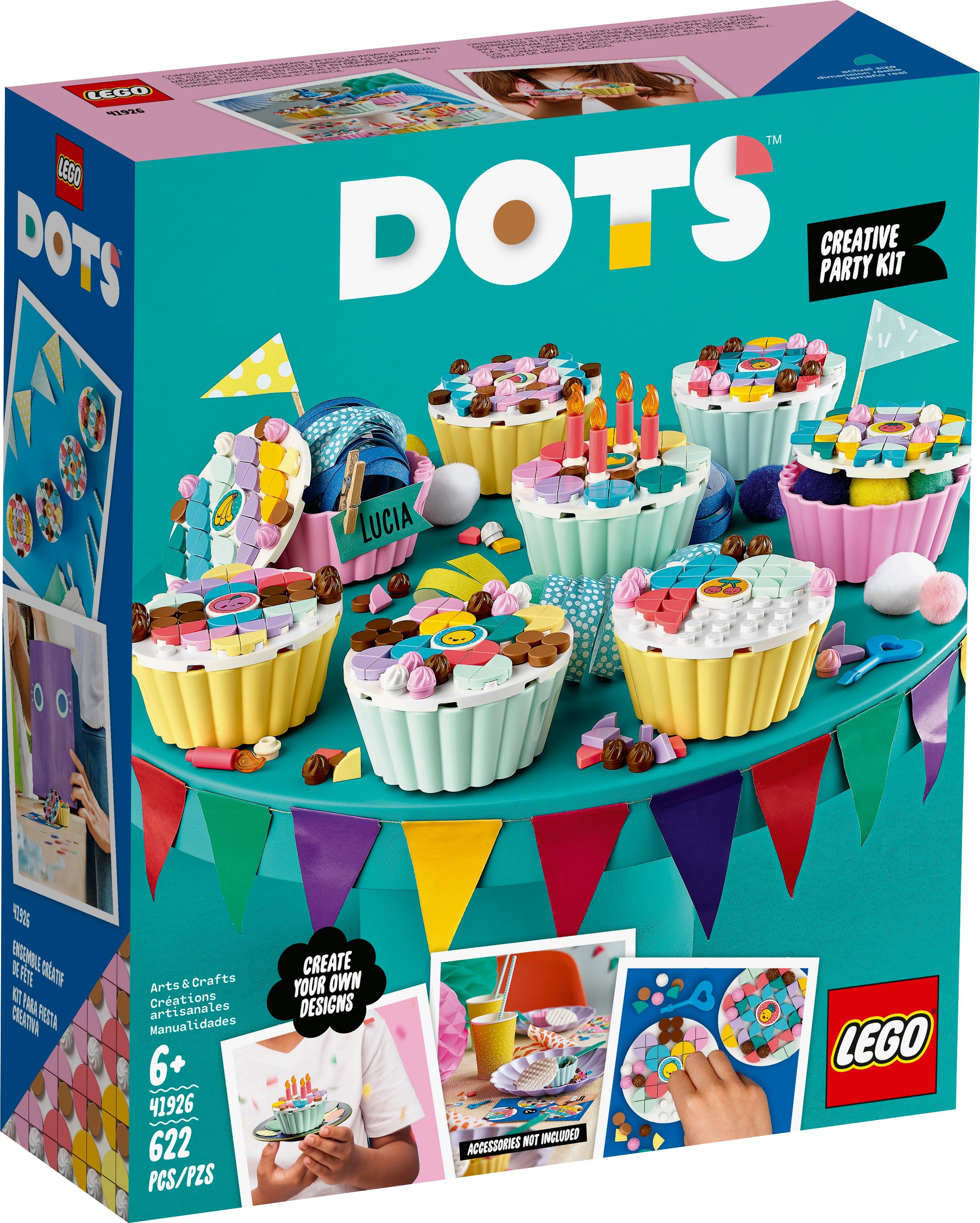 LEGO DOTS 41926 Kreativt kalaspaket