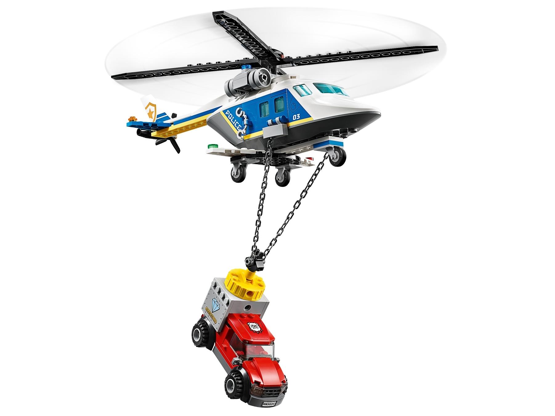 LEGO City 60243 Polishelikopterjakt