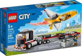 LEGO City 60289 Transport med flyguppvisningsjet