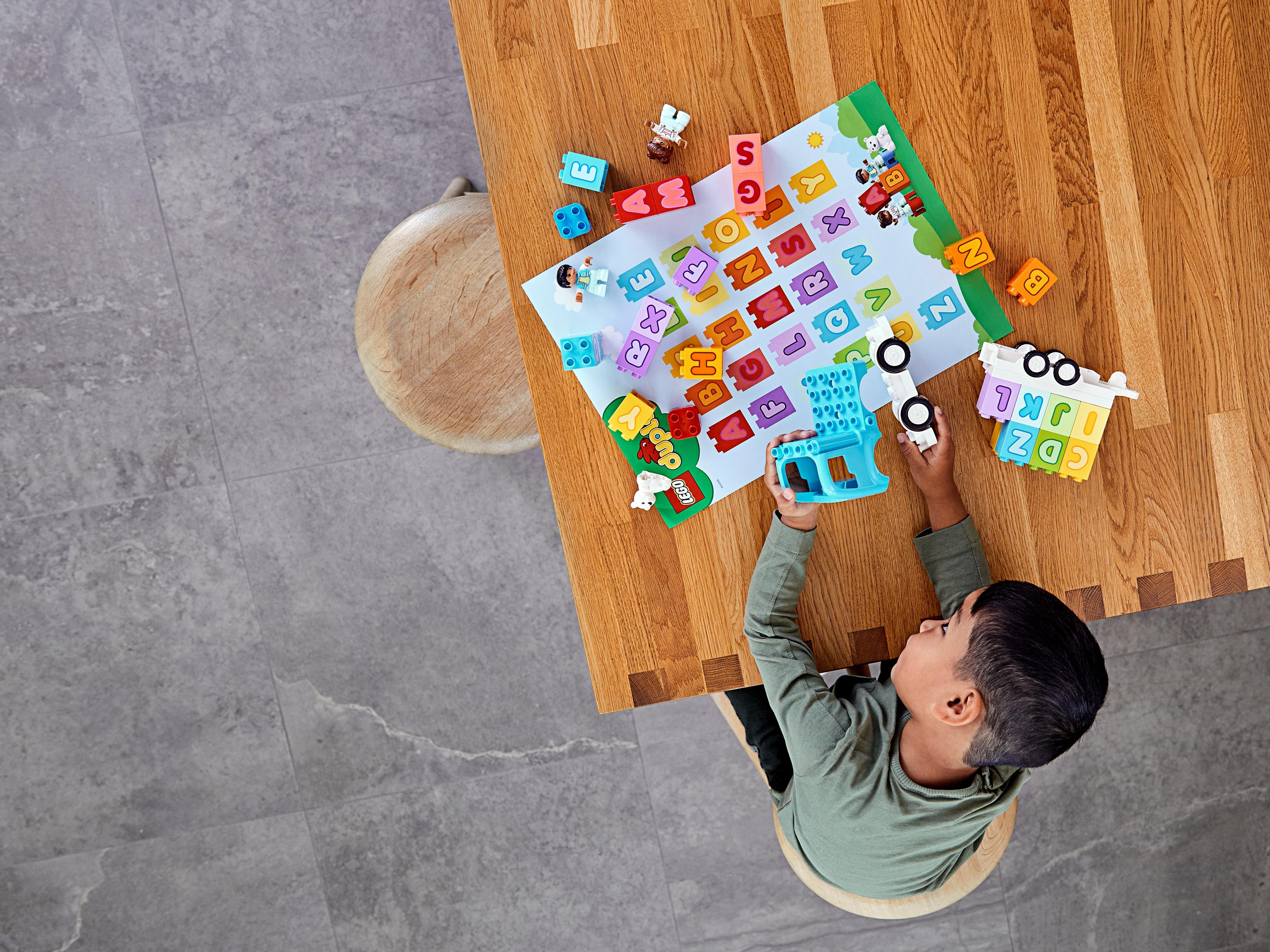 LEGO DUPLO 10915 Alfabetslastbil