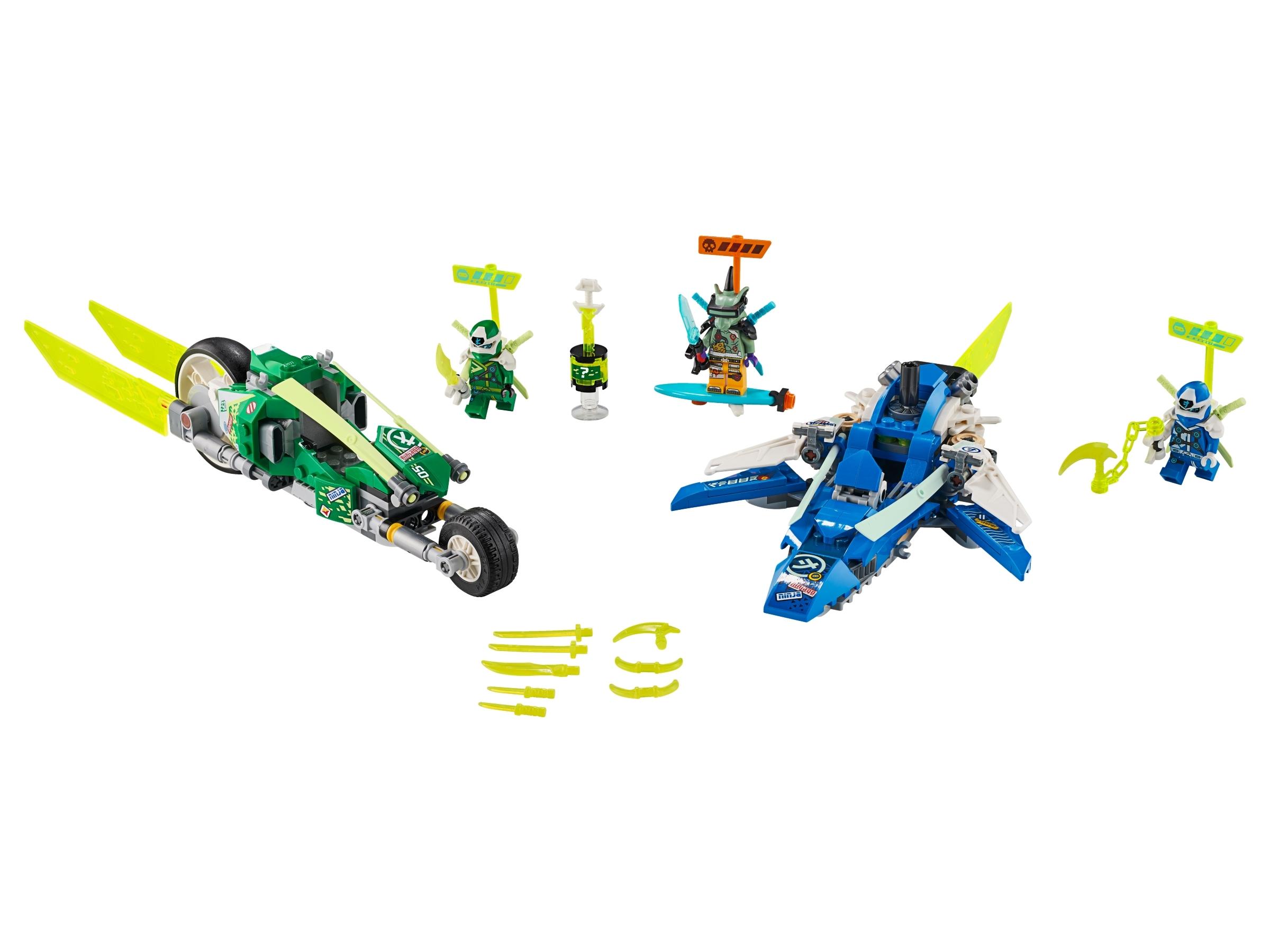 LEGO NINJAGO 71709 Jay och Lloyds racerfordon