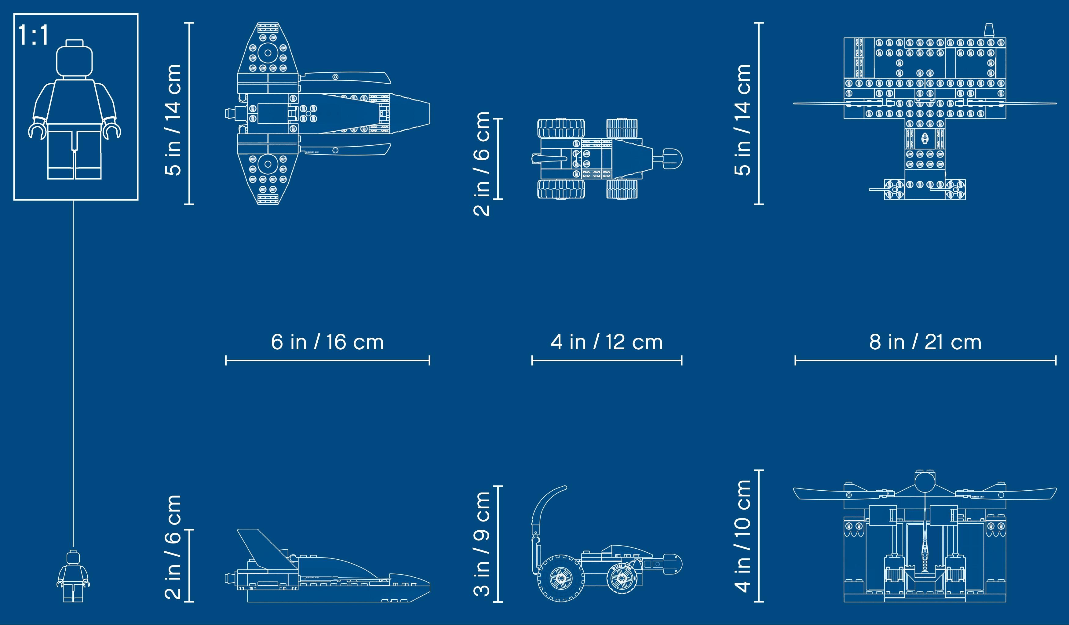 LEGO NINJAGO 71703 Jaktplansstrid