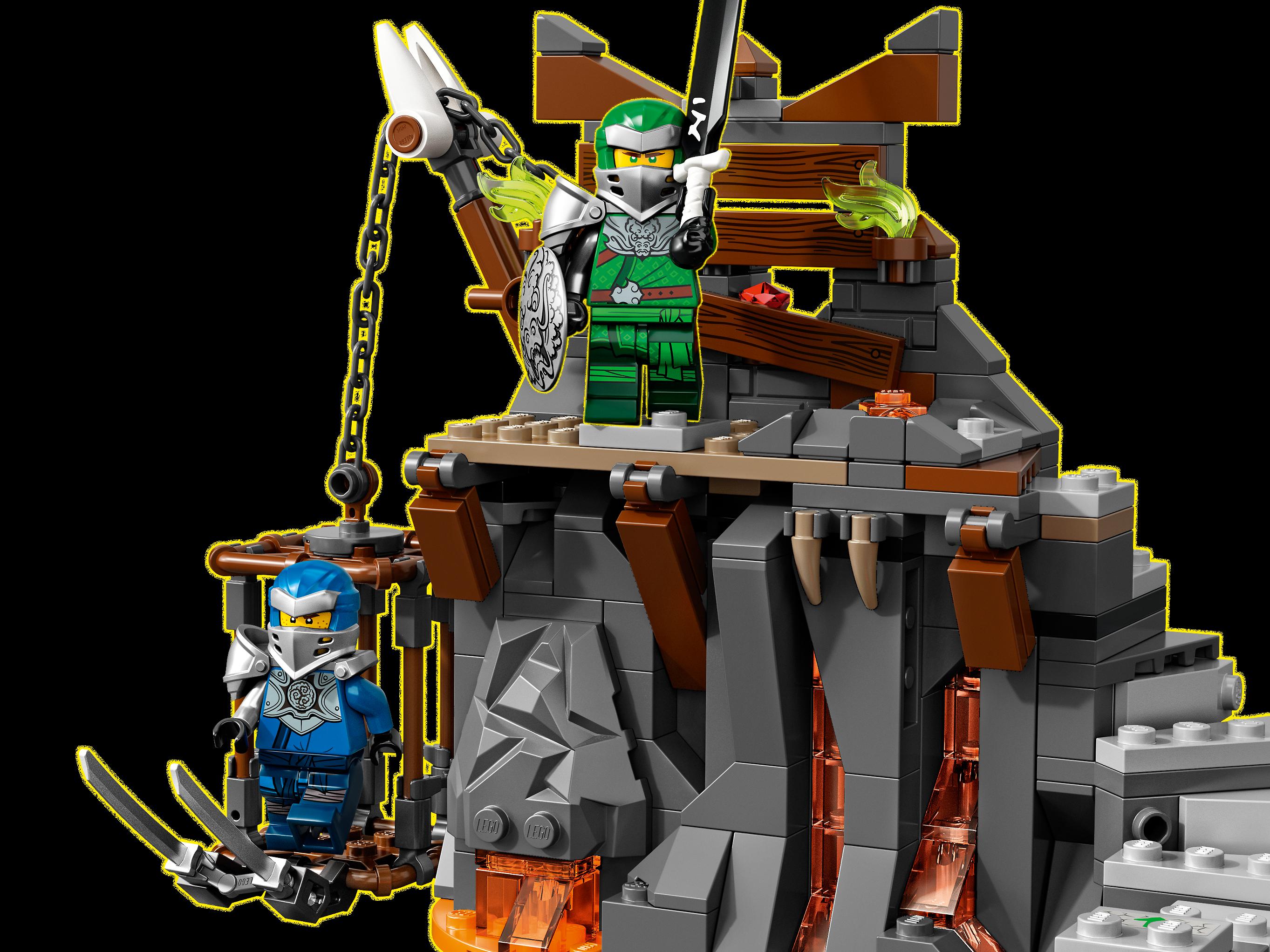 LEGO NINJAGO 71717 Resan till Dödskallegrottorna