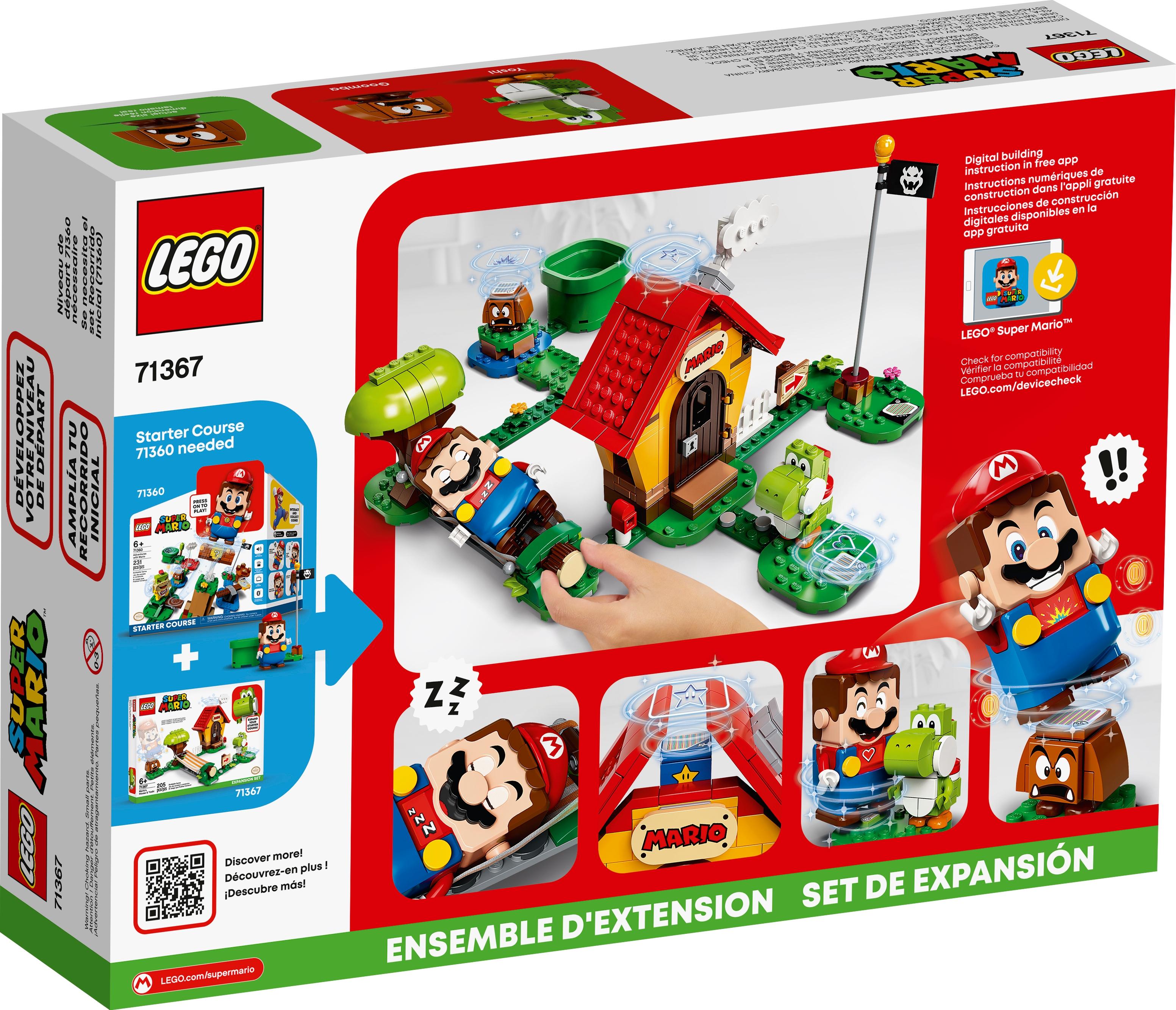LEGO Super Mario 71367 Marios hus & Yoshi – Expansionsset