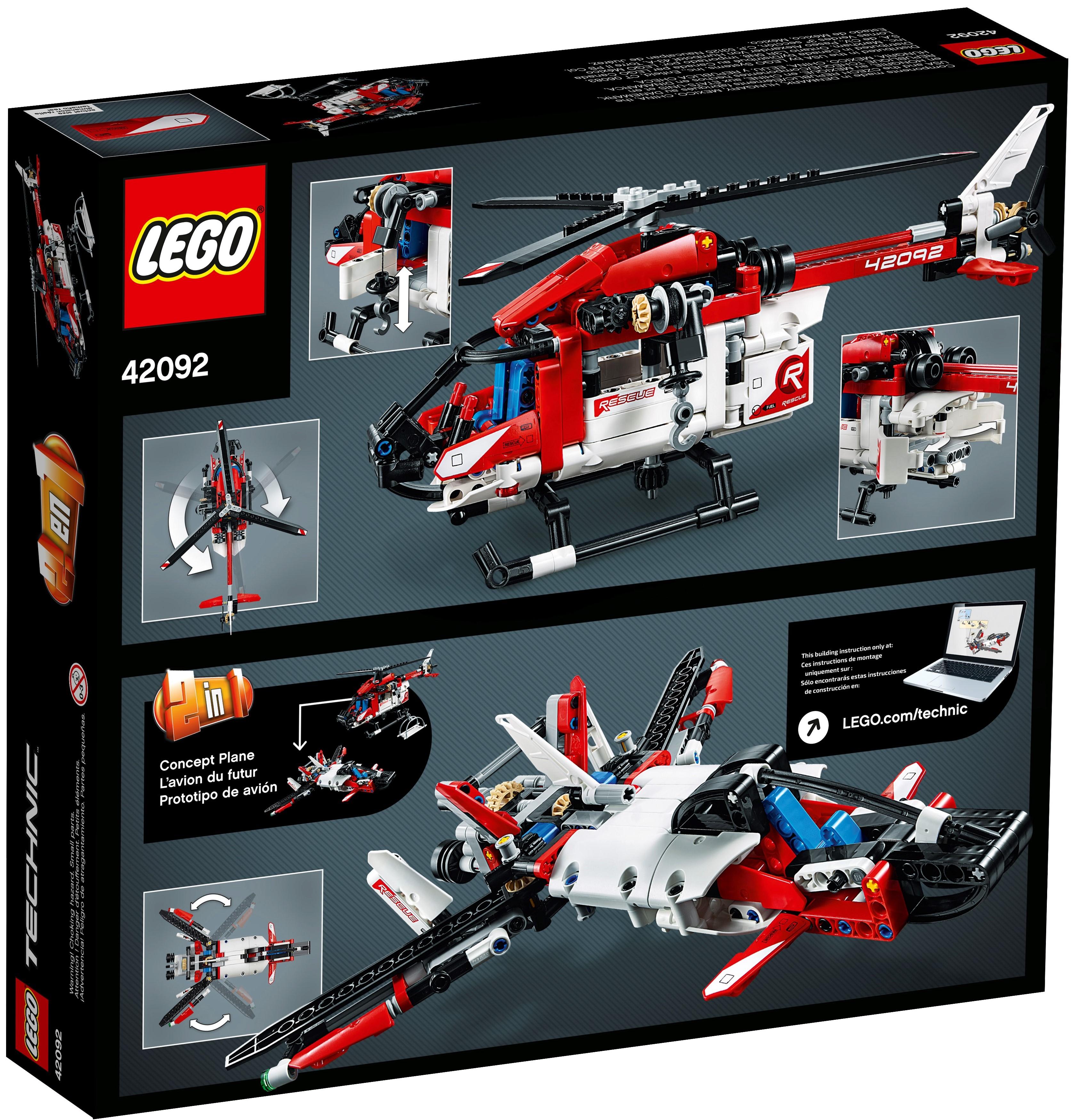 LEGO Technic 42092 Räddningshelikopter