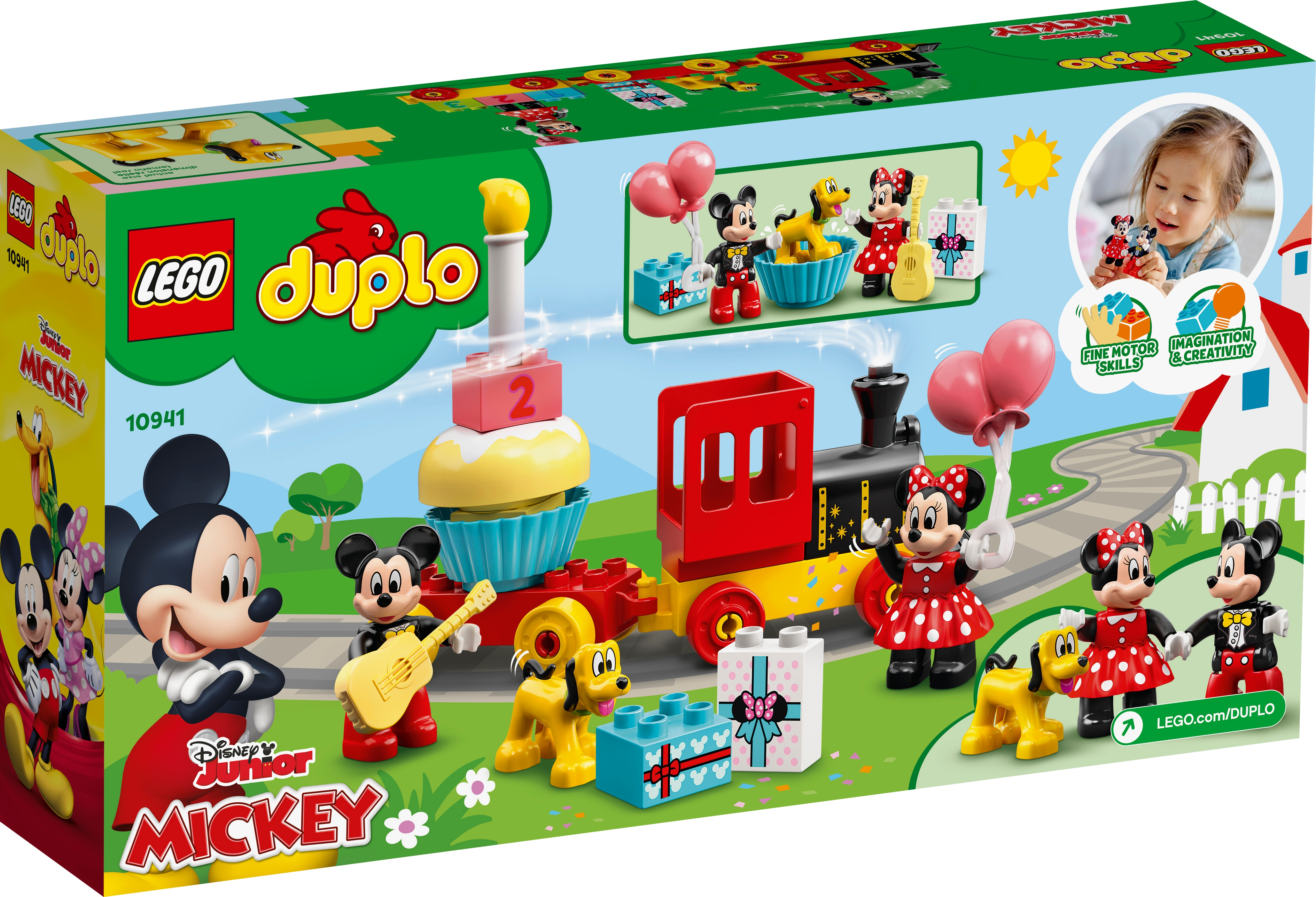 LEGO Disney 10941 Musse och Mimmis födelsedagståg