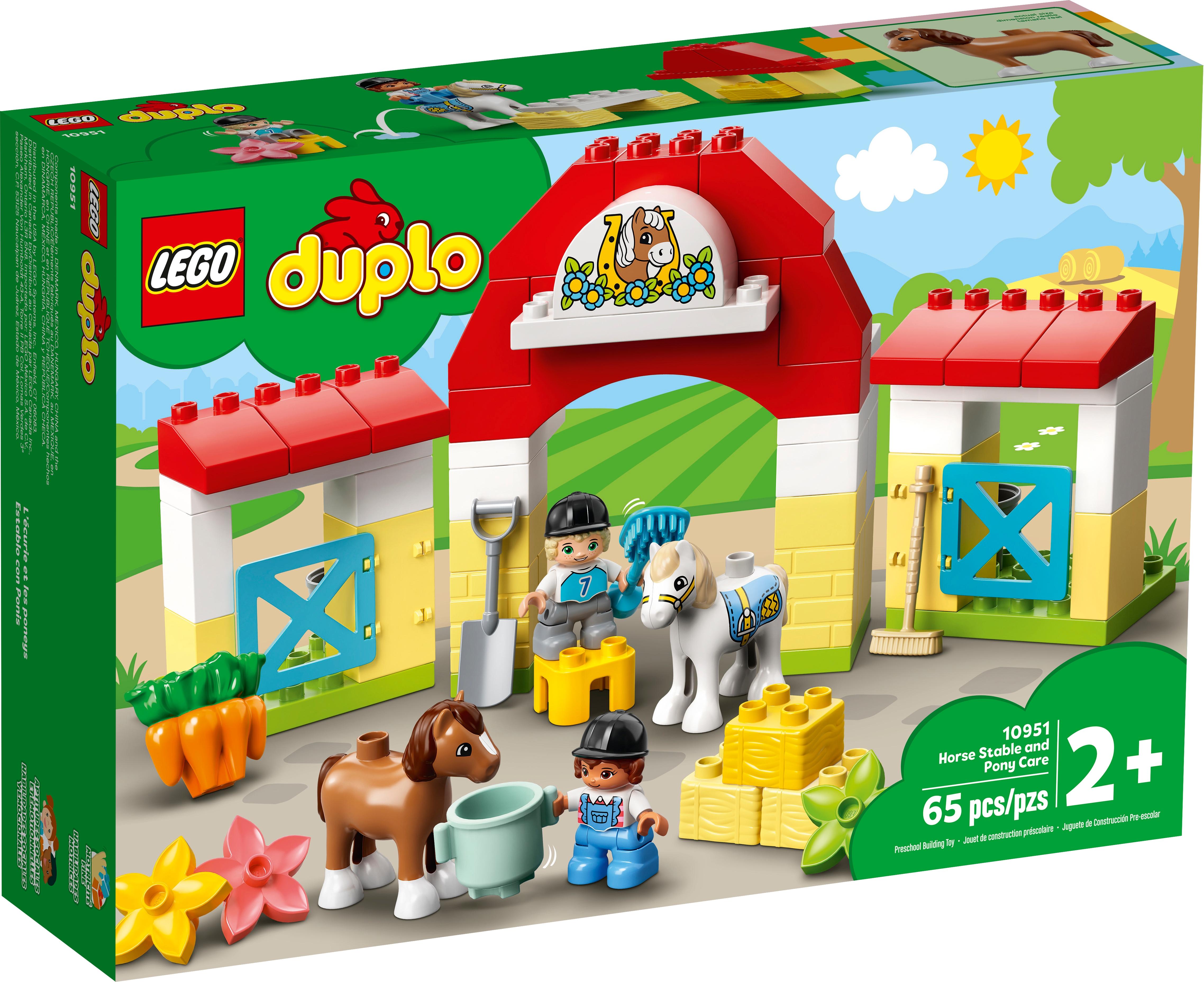 LEGO DUPLO 10951 Häststall och ponnyskötsel