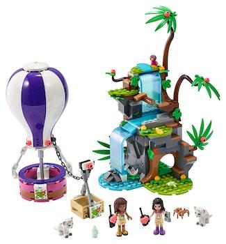 LEGO Friends 41423 Djungelräddning med tiger och luftballong