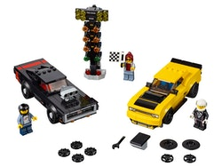 LEGO Speed Champions 75893 2018 Dodge Challenger SRT Demon och 1970 Dodge Charger R/T