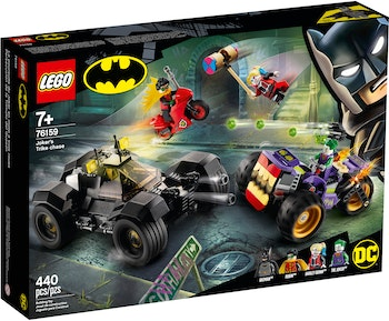 LEGO Batman 76159 Jokerns trehjulingsjakt