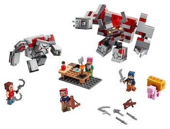 LEGO Minecraft 21163 Rödstensstriden