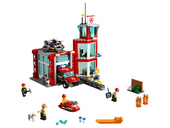 LEGO City 60215 Brandstation