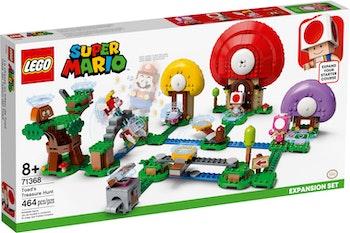 LEGO Super Mario 71368 Toads skattjakt – Expansionsset