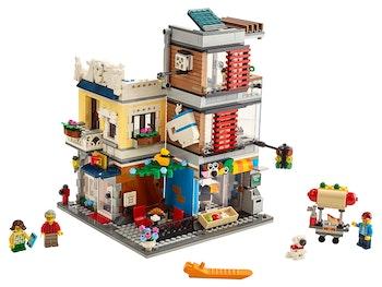 LEGO Creator 3-in-1 31097 Djuraffär och kafé