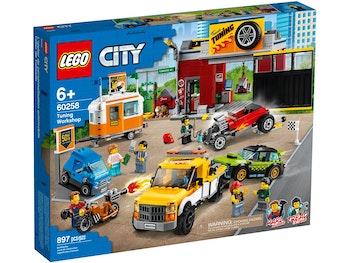 LEGO City 60258 Bilverkstad