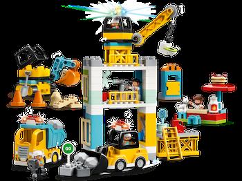 LEGO DUPLO 10933 Lyftkran och byggnadsarbete
