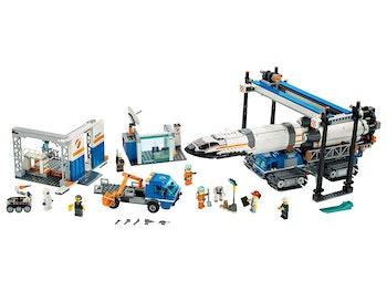 LEGO City 60229 Raketmontering och transport