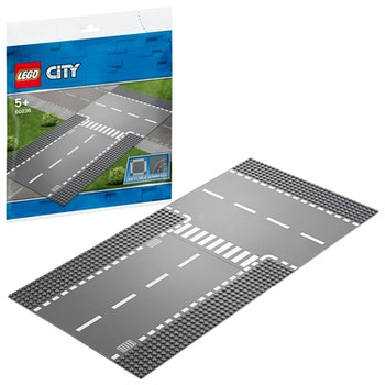 LEGO City 60236 Rak väg och T-korsning