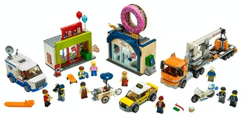 LEGO City Town 60233 Munkbutiken öppnar