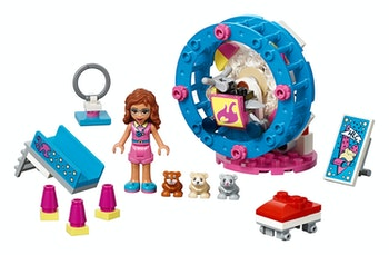 LEGO Friends 41383 Olivias hamsterlekplats
