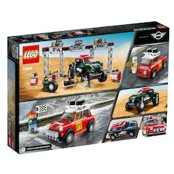LEGO Speed Champions 75894 1967 Mini Cooper S Rally och 2018 MINI John Cooper Works Buggy