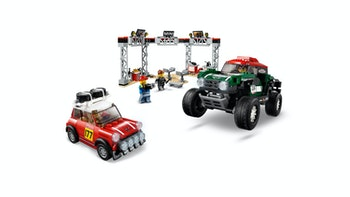 LEGO Speed Champions 75894 1967 Mini Cooper S Rally och 2018 MINI John Cooper Works Buggy