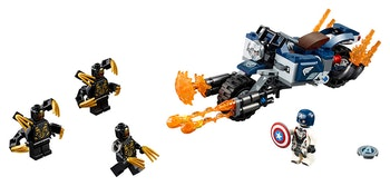 LEGO Super Heroes 76123 Captain America: Outriders attack