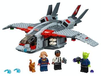 LEGO Super Heroes 76127 Captain Marvel och Skrullattacken