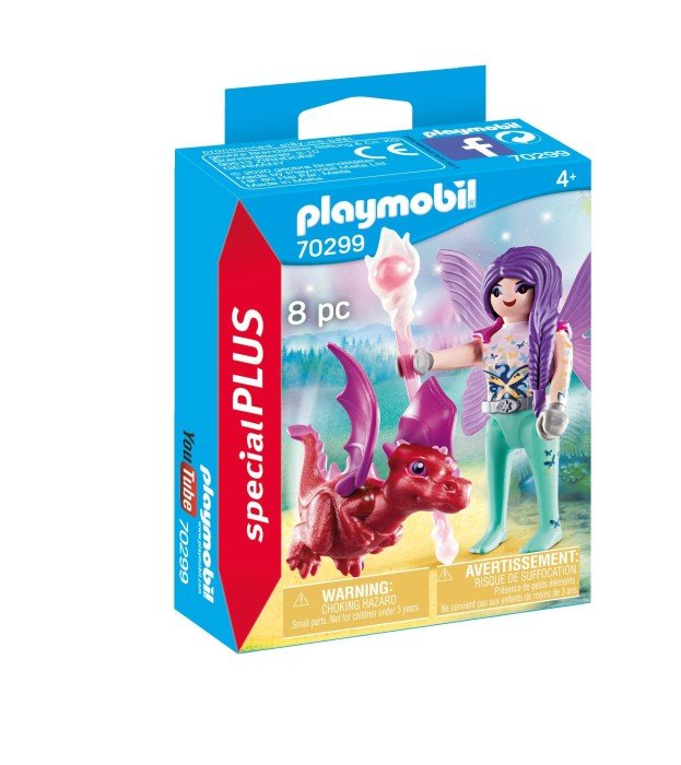 Playmobil 70299 Fairy with Baby Dragon