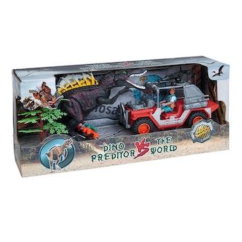 Dino vs World, Lekset med dinosaurier