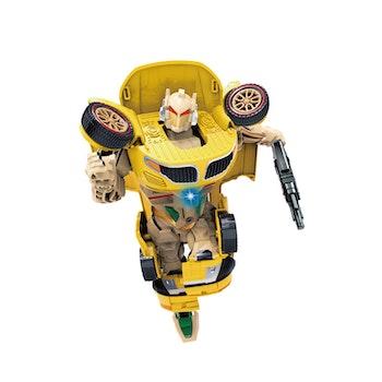 Hi-Tech, Transformer Carbot Large, gul/röd