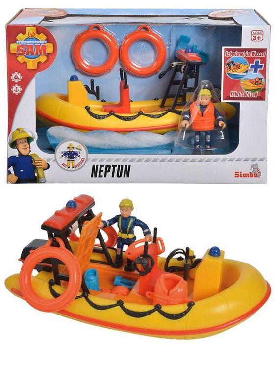 Brandman Sam Neptune med figur