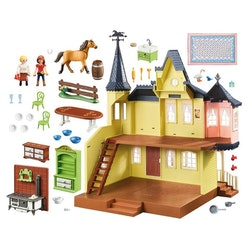 Playmobil, Spirit - Luckys lyckliga hem