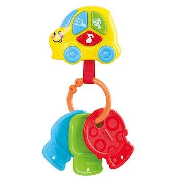 KID, Nycklar på ring med bilalarm