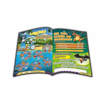 Pokémon tidning med Pokémon kort