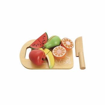 NAP Skära frukt med bräda