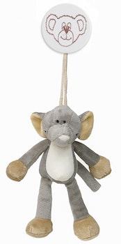 Teddykompaniet Diinglisar Wild Clip Elefant