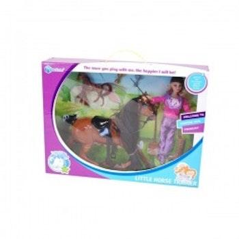 Häst  med docka