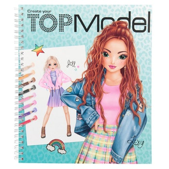 TOPModel Dress me up Designbok
