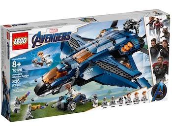 LEGO Super Heroes 76126 Avengers ultimata Quinjet