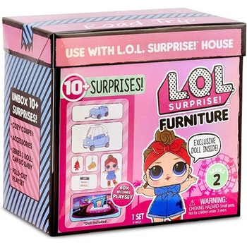 L.O.L. Surprise Furniture Pack with Doll Asst Diskdisplay