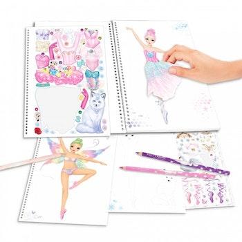 Fantasy Designbok Ballerina