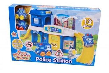 BABY POLISSTATION MED 2 BILAR