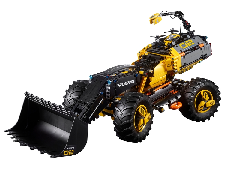 LEGO Technic 42081 Volvo hjullastare ZEUX