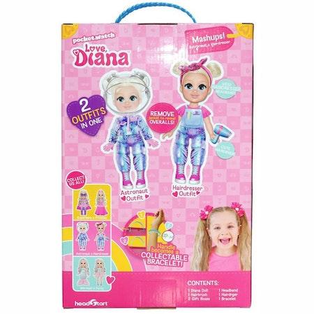 Love Diana Astronaut/Hairdresser