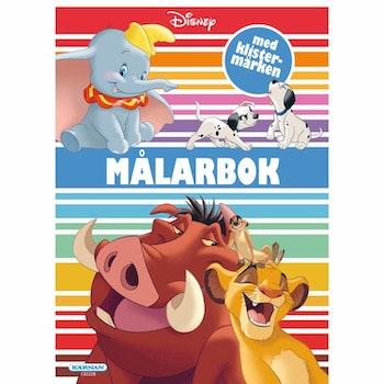 Målarbok Disney Klassiker Med Klistermärken