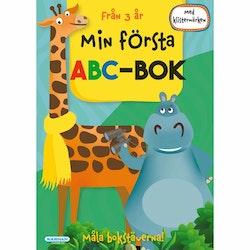 Min Första Abc-Bok Med Klistermärken