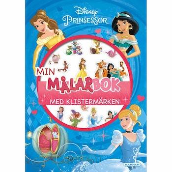 Målarbok Prinsessor Med Klistermärken