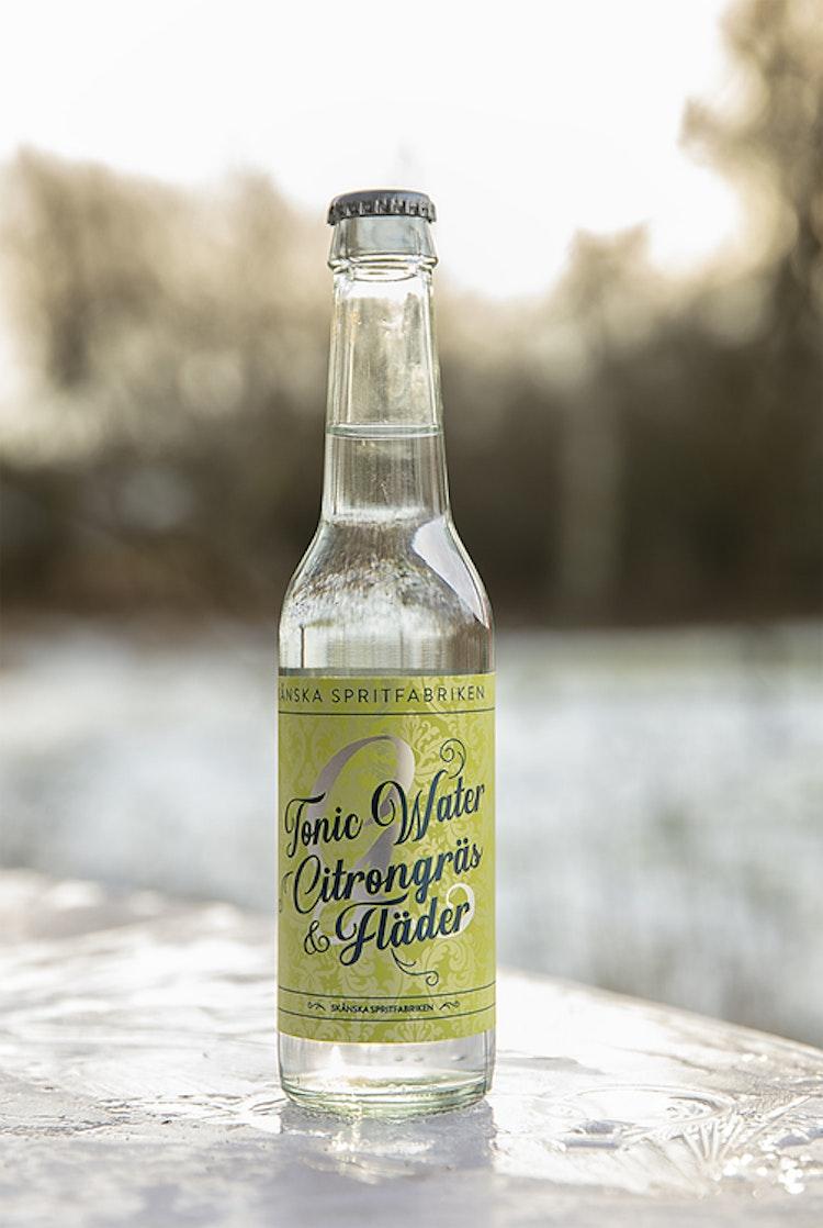 Tonic Water Citrongräs & fläder