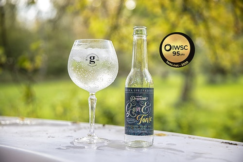 Alkoholfri Gin & Tonic Citrus
